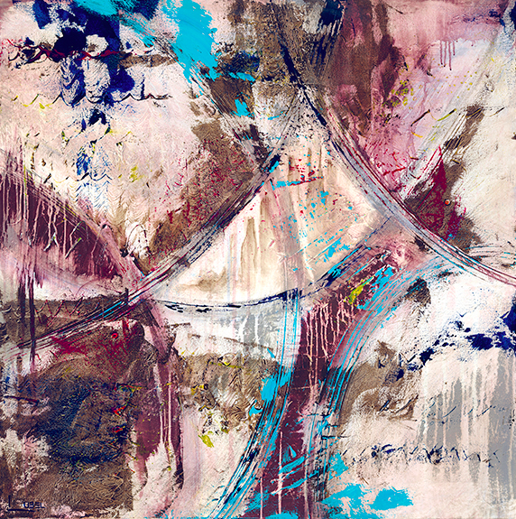 Wine With Everything - Lynette Ubel | Urban + Abstract Exhibit