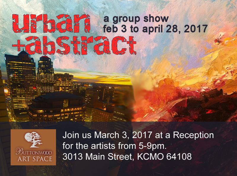 "Kansas City First Fridays: Buttonwood Features Lynette Ubel's ""Urban + Abstract"""