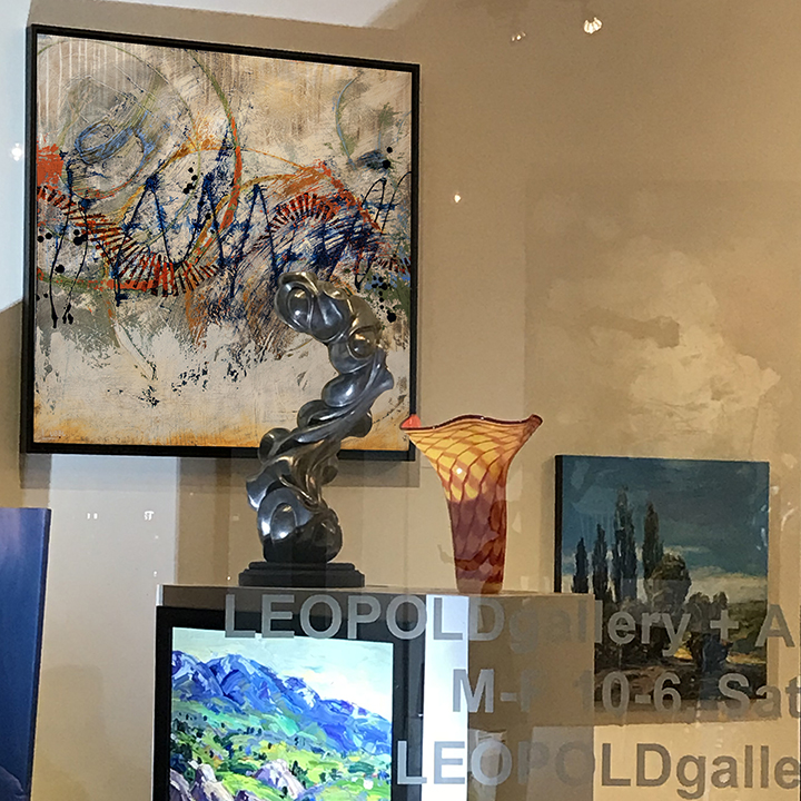 Lynette Ubel Art Now On Display At Leopold Gallery
