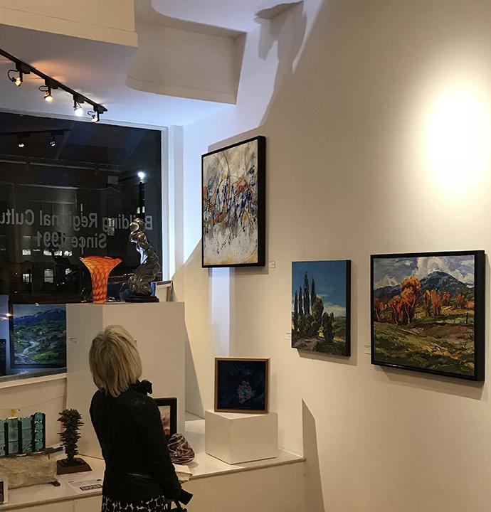 Lynette Ubel Art 1st Floor Leopold Gallery
