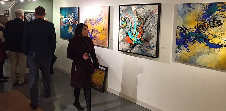 Lynette Ubel Art - Leopold Gallery