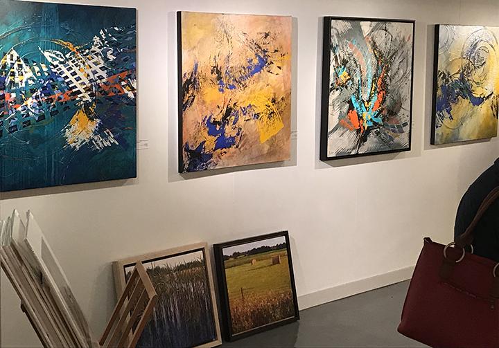 Lynette Ubel Art on Display at Leopold Gallery