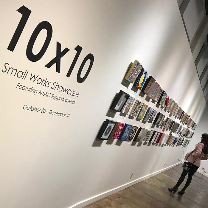 My Small Canvas Challenge: ArtsKC 10×10 Smallworks Showcase